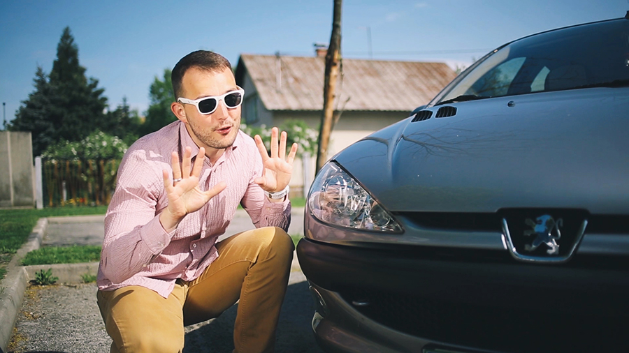Peugeot reklama 1 z Zlatkom – Menjava olja