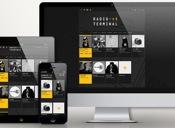 radio terminal web